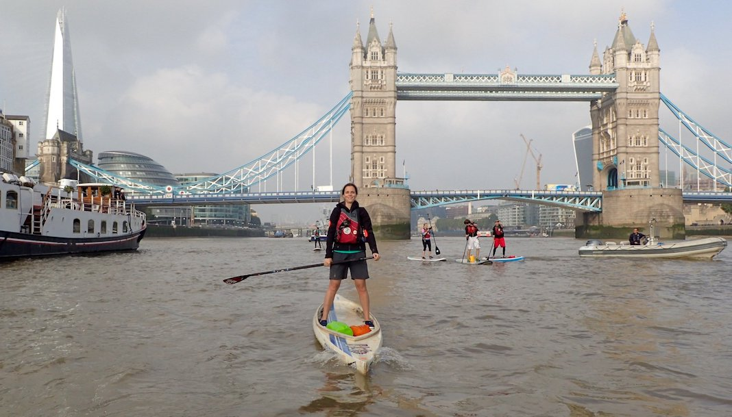 stand up paddle Tamise que faire à londres