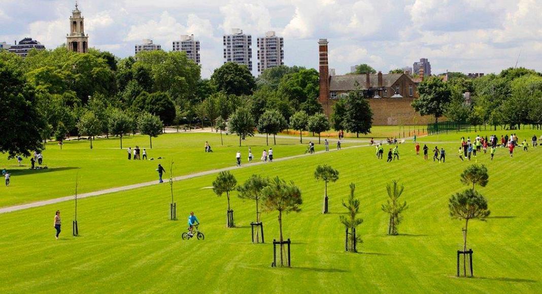 burgess park parc londres