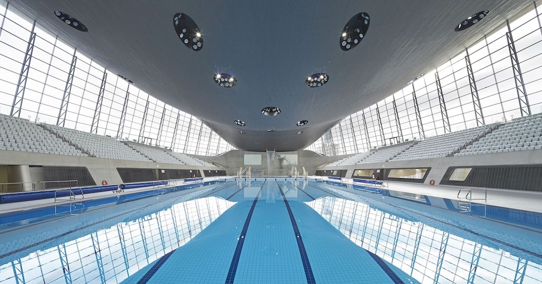 London Olympic Pool©pinterest