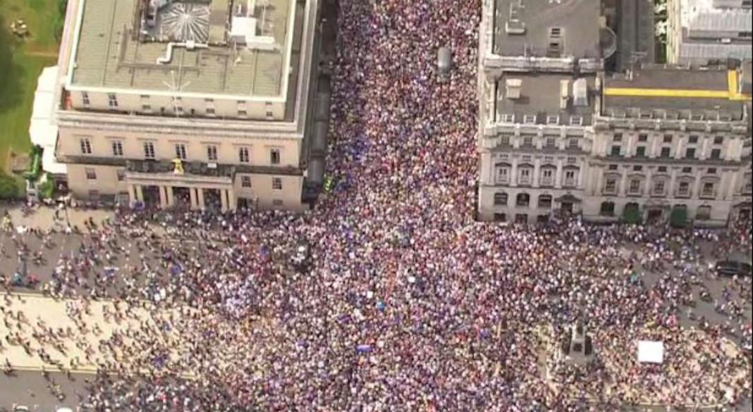 marche anti brexit londres